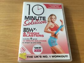 10 minute solution fitness DVD