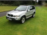 2005 BMW X5 SPORT D AUTO MOT SAT NAV PAN ROOF XENON LIGHTS