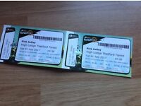X2 Rick Astley Tickets 1st July Thetford Forest