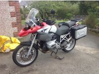 BMW R1200 GS immaculate 15000 miles