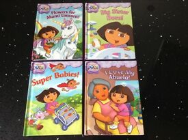 Box set of Dora the explorer books