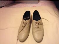 Size 5 1/2 Leather dance shoes