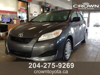 2013 TOYOTA MATRIX TRUE PRICE $12,988.00 + TAXES @ CROWN TOYOTA
