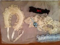 Brial accessories, Garter & Lucky Horseshoe
