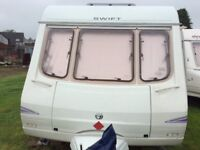 Swift Charisma 5 berth touring caravan