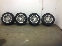 "Porsche Cayenne 18"" alloys with 255/55/R 18 tyres"