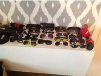 21 Pairs of Genuine Designer Sunglasses Ray-Bay, Oakley, Police & More
