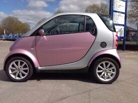 Rare Passion Pink Smart City Coupe Car