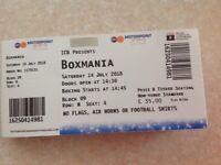 Tickets for BoxMania