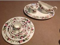 Wedgwood Hathaway Rose bone china crockery for sale
