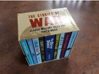 The stories of War: Classic Military Tales and True Stories: 10 books and box