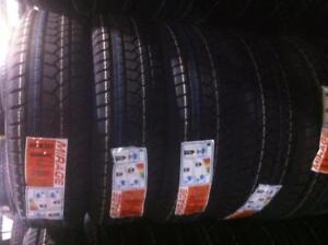 (Most Brands available) Brand New Winter Tire/All season Blowout! Many sizes! PRICES INCLUDE MOUNT + BALANCE