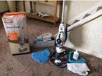 VAX steam fresh combi. S86-SF-C. Brand new with wet and dry rechargeable vacuum