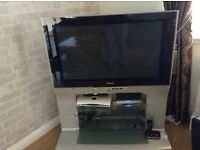 42 inch plasma TV complete with stand