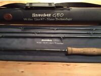 Snowbee Geo fly fishing rod 9ft 6ins line #7