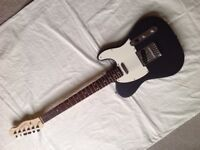 Squier Telecaster with Upgraded Pickups (Alder Body)