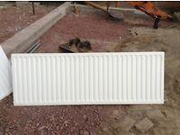 Two single panel radiators for sale