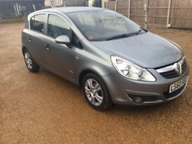 Buying with confidence/trust - Bawdeswell Garage The popular 5 dr Vauxhall Corsa 1.2 cc Silver