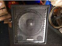 Pro Sound ( Maplins ) 15 inch Bass Bin.