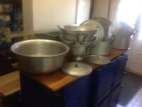 Catering cooking equipment for larger numbers