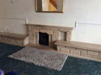 Free- John Bain stone fireplace