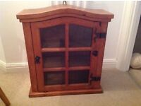 Small wooden cabinet - wooden cupboard