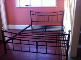 Metal Double Bed Frame / Can Deliver