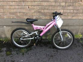 Girls Dunlop sport bike- Disc 21(used)
