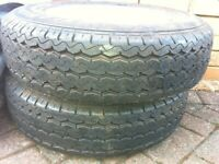 Trailer wheels - rims and tyres