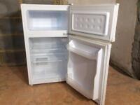 Small undercounter fridge freezer. Ideal for flat