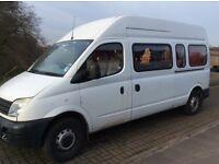 LDV Conversion registered with DVLA as campervan