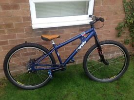 Snafu jump bike alloy frame and wheels bargain £120 ono
