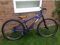 Snafu jump bike alloy frame and wheels bargain £120 ono