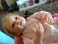 Dolls Aston drake Hanl picture perfect baby + 2 smaller dolls
