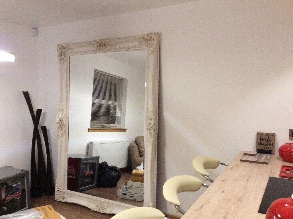 Huge Floor Standing Mirror In