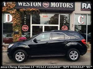 2012 Chevrolet Equinox 1LT *FULLY LOADED *SPORT WHEELS *BLUETOOT