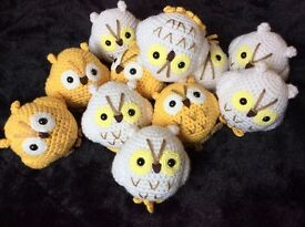 Good quality handknitted OWL
