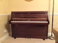 Zender Coronet upright piano. Excellent condition.