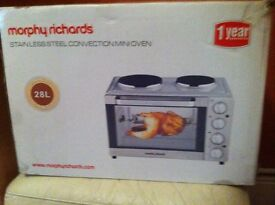 Morphy Richards stainless steel convection mini oven