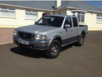 2006 Ford Ranger 2.5 TDdi XLT Double Cab Crewcab Pick up 4x4 4dr