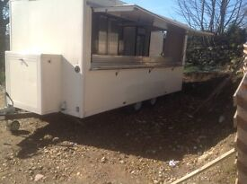 16ft twin axle catering trailer 2011 manufactured