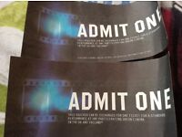 2 Odeon tickets any movie any cinema only £10