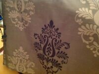 Dunelm Brown Thermal Lined Pencil Pleat Curtains - £20
