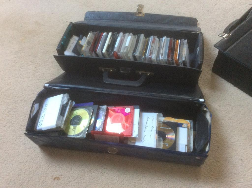 Collections of mini discs