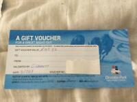 Gift voucher Drumbo Park