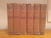 The Second World War Winston Churchill Books Volume 1-6 Cassell