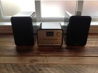 PURE mini hi-fi system with DAB radio, CD player & SD card support