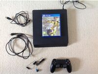 Playstation 4 Slim and FIFA 17 (hardly used,excellent condition)