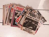 Private eye magazine 60s 80s 90s