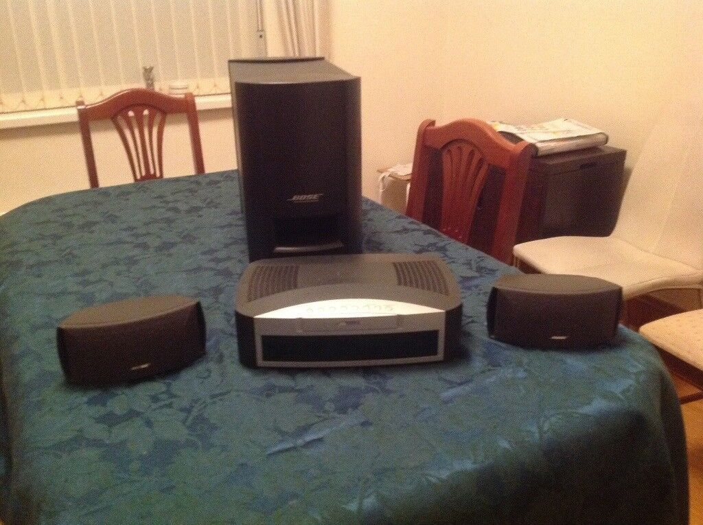 Bose 321 Home Entertainment System in Sydenham, Belfast Gumt